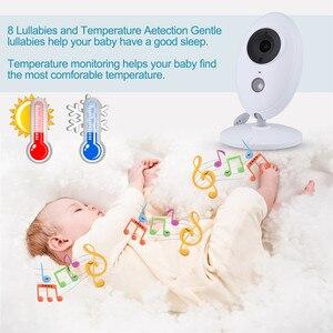Image 5 - HYASIA 3.5 Draadloze Video Babyfoon Baby Telefoon Camera Bebe Nanny Beveiliging Temperatuur Monitoring LCD Nachtzicht Kindje Camera