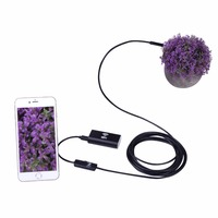PC Android And IOS Wireless Waterproof Endoscope Camera 2 In 1 Cable 1M 2M 3 5M