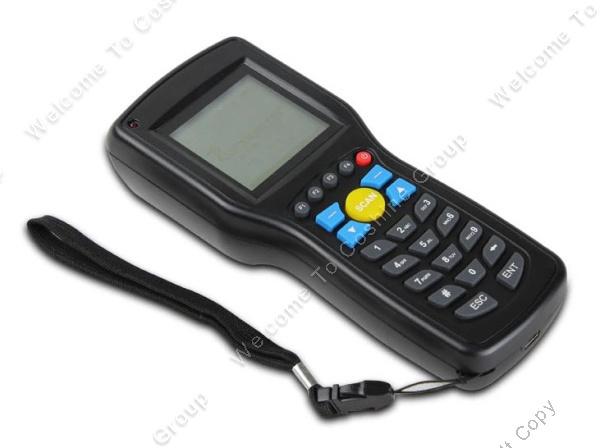 Prix pour D'origine Heroje 1D EAN13 UPCA/E Fil sans fil barcode scanner données Inventaire collecteur Terminal