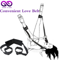 New Love BDSM Bondage length adjustable black leg opening sex toys for couples gay erotic toys Sexual intercourse strapon Belt