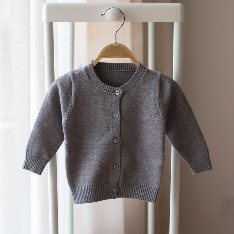 New-2017-spring-and-autumn-new-style-baby-infant-child-cardigan-sweater-knitting-cotton-sweater-boys-and-girls-casual-sweater-2
