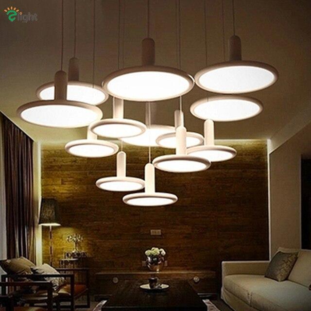 US $78.03 29% OFF|Modern Designer Led Pendant Chandelier Lighting Lustre  Acrylic Bedroom Led Chandeliers Dining Room Led Hanging Lights Fixtures-in  ...