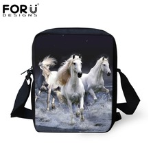 Fashion Children School Bags 3D Animals Crazy Horse Printed