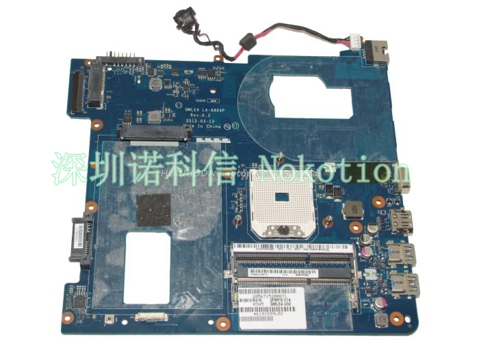 NOKOTION LA-8864P laptop motherboard for Samsung NP365 NP365E5C SOCKET FS1 DDR3 Mainboard full works original laptop motherboard abl51 la c781p 813966 501 for hp 15 af mainboard full test works
