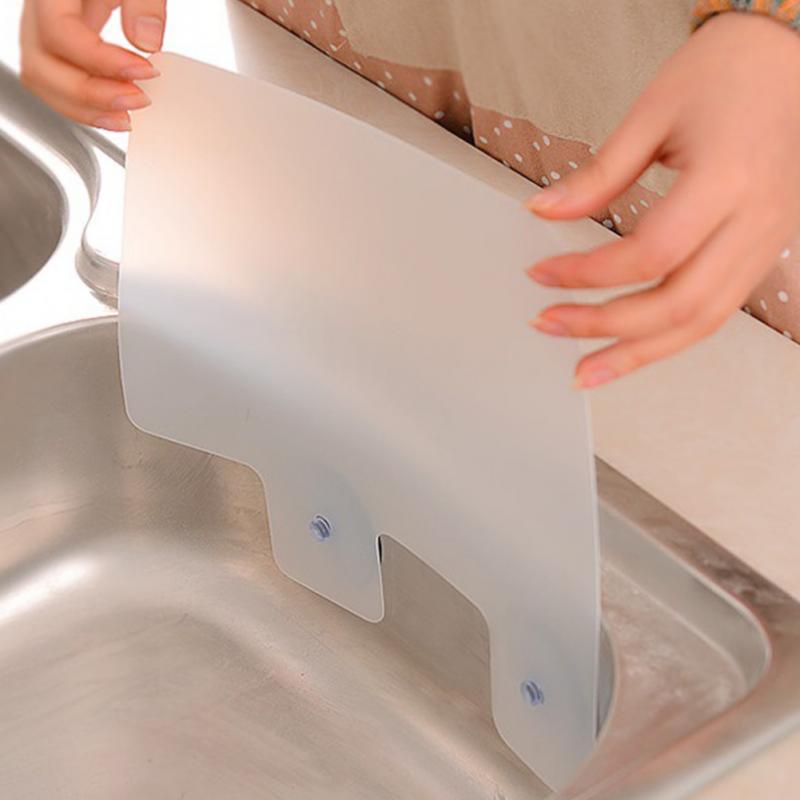Shelf Pool-Board Sink Bathroom-Accessories Baffle Kitchen-Rack Splash-Water Sucker Prateleira