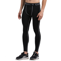 Winter Men Base Layer Fitness Long Pants Skinny Quick dry Compression Tights Trousers Leggings Workout Wear Sweatpants