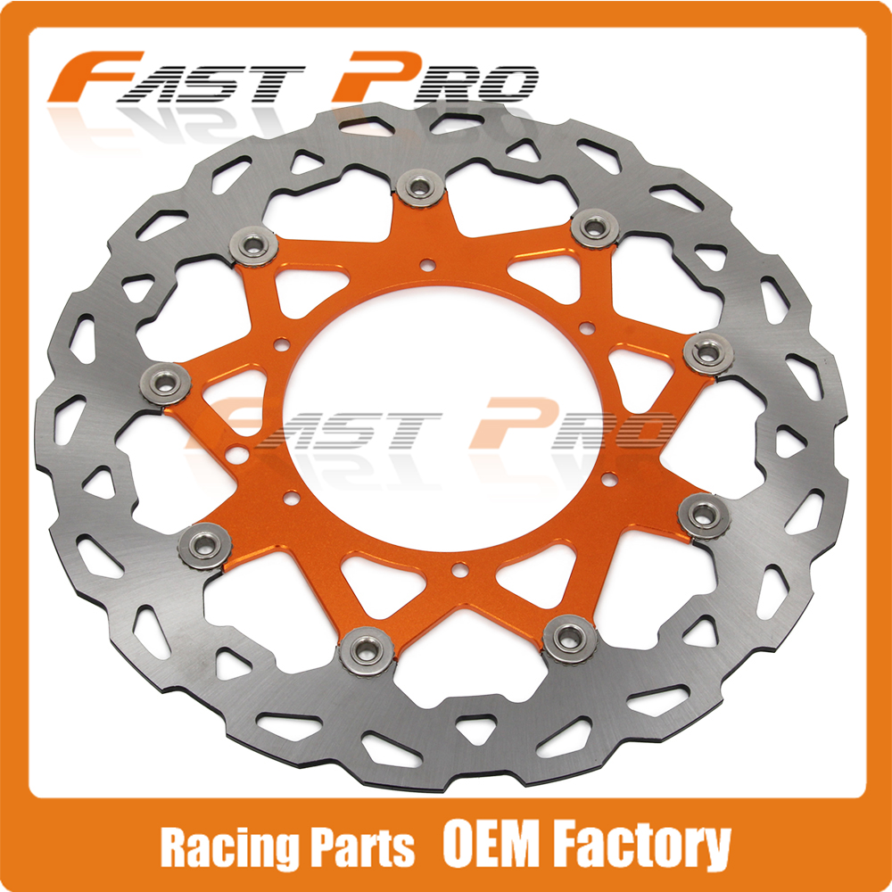 320MM Front Wavy Floating Brake Disc Rotor For KTM EXC SX SXS SXF XC XCW XCF MXC GS MX MXC EXCG LC4 SIX DAYS  Enduro Supermoto front brake disc rotor for ktm 380 exc 1998 1999 2000 2001 2002 sx mxc 1998 2001 400 egs exc g xc w 2007 2008 2009 07 08 09