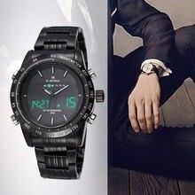 Calidad de Los Hombres Ocasionales de la Forma Redonda Reloj de Cuarzo Reloj con Alarma de Luz de Fondo Preciso Diseñado Reloj Regalo para Familias Amigo B y B