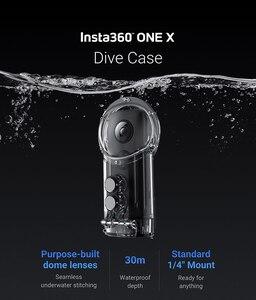 Image 2 - Insta360 One X Dive Fall für Insta 360 ONE X Wasserdichte Fall oder Dive Fall Tauchen 30M Tiefe action kamera Zubehör
