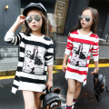 Children Girls T-shirt Cotton Striped Long Sleeve Girls Clothing Autumn Fashion Kids Girls Tee Top 4 5 6 7 8 9 10 11 12 Years