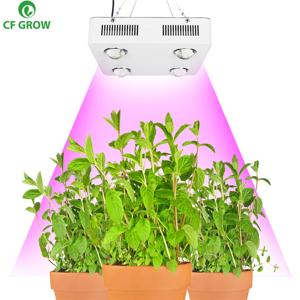 CF cultiver 300 W 600 W COB LED pousser lumière serre hydroponique plante lampe de croissance spectre complet remplacer UFO HID cultiver l'éclairage