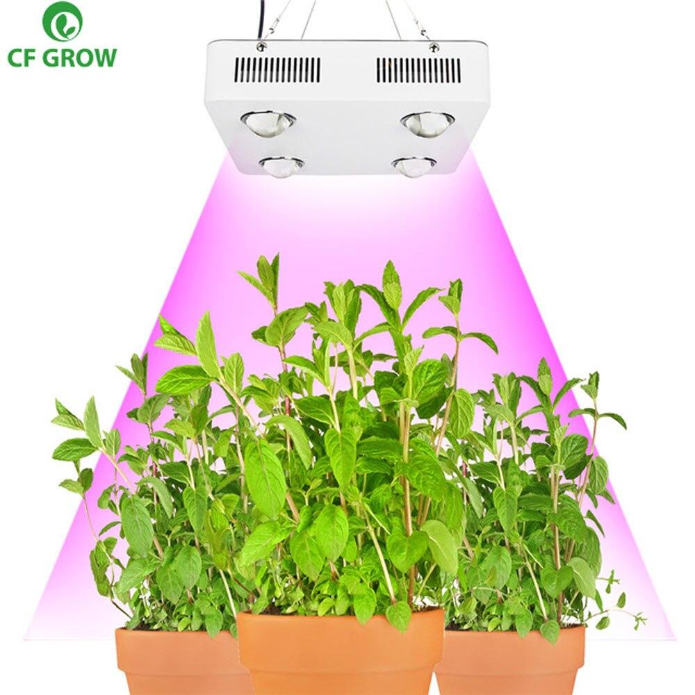 CF Grow 300W 600W COB LED Grow Light Greenhouse Hydroponic Plant Growing Lamp Full Spectrum Replace UFO HID Grow Lighting