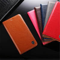 PALUNI For Xiaomi Redmi 4A Case Crazy Horse Genuine Leather Wallet Case Flip Cover For Redmi