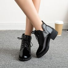 YOUYEDIAN New spring Winter Women Pumps Boots High Quality Lace-up European Ladies shoes PU high heels Boots Fast delivery#jss(China)