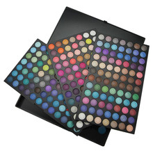 2016 Professional Cosmetic Set Eye Shading 252 Colors Eye Shadow Makeup Shimmer Matte Eyeshadow Palette