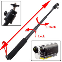 waterproof Handheld  Monopod Tripod  Outdoor Sports Kit for Sony FDR-X1000V/W 4K Action Cam HDR-AS15 AS20 AS30V