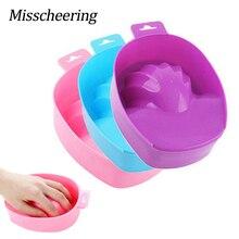 1 шт для маникюра, ручная мойка, Мочалка для мытья ногтей, сделай сам, салонный лак для ногтей, спа, для ванны, для лечения, маникюрные инструменты