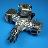 Dle40 40cc радиоуправляемая модель самолета 4.8hp Двигатели для автомобиля для дистанционного управления Бензин самолет