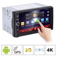 7 Inch Car DVD GPS Player Android 5 1 1 Capacitive HD Touch Screen Radio