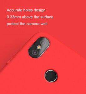 Image 3 - 100% Chính Hãng Xiaomi Mi 8 Ốp Lưng Xiaomi Mi 8 Bao Da chống trầy xước Lưng Silicon mềm lưng Bao Da bền cao su chống sốc
