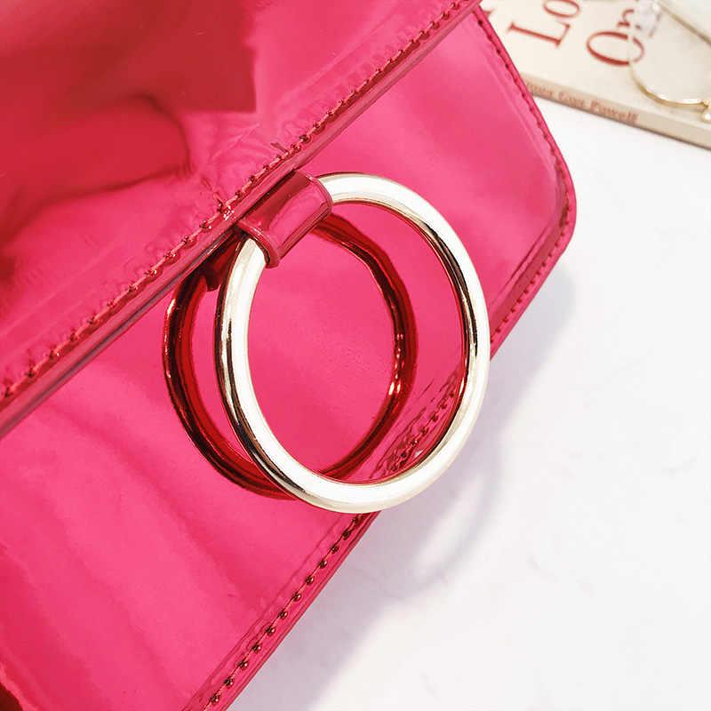 7240f66b5a ... Bolso Mujer Luxury Handbags Women Bags Designer 2019 Chain Fashion  Crossbody Bags For Women Gold Red ...