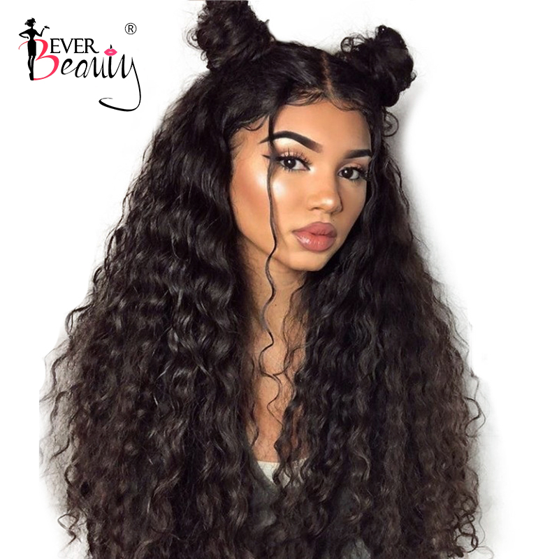 360 мережива фронтальний перуку - Людське волосся (чорне)