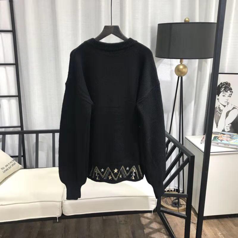 Femmes Vêtements Piste Luxe Partie Européenne We12113 Marque Style De Chandails 2018 Mode Design 7CwZIx5Z