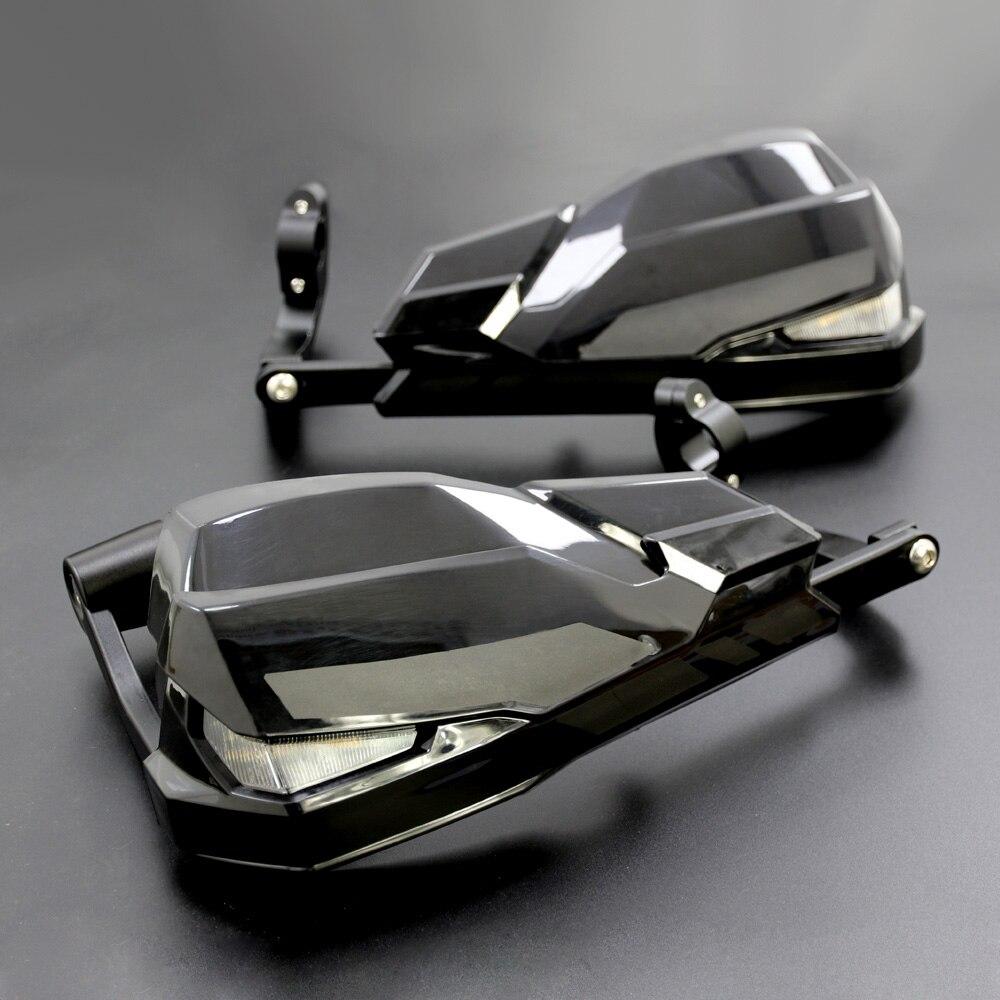 Новый светодиодный ветрозащитный щит для мотоцикла, рукавицы для BMW F800GS/R1200GS LC/ADV, включая сигнальные огни и дневные ходовые огни|Защита от падения|   | АлиЭкспресс