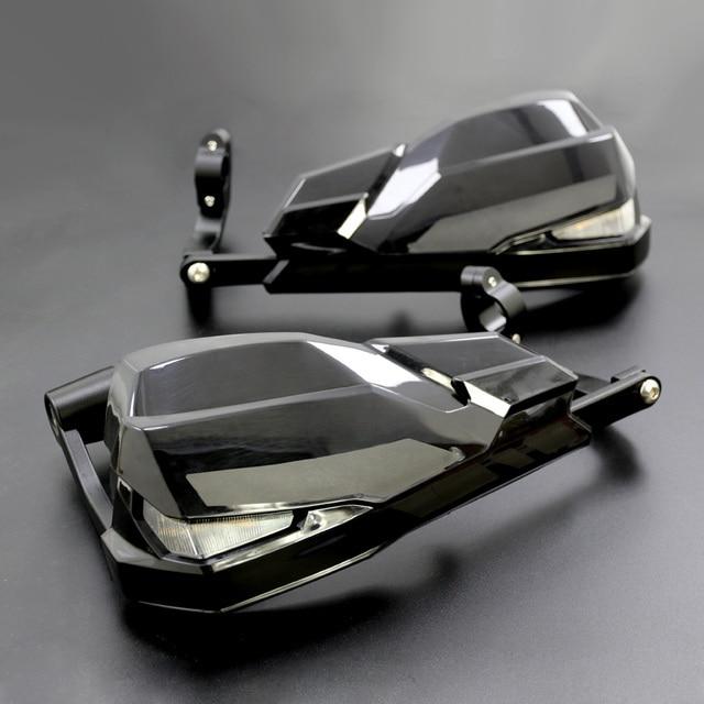 Nuevos protectores de protección contra el viento para motocicleta LED para BMW F800GS/R1200GS LC/ADV incluyen luces de señal y de día lámpara de running
