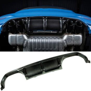 Gaya P Serat Karbon Belakang Diffuser Cocok untuk BMW F80 M3 F82 F83 M4