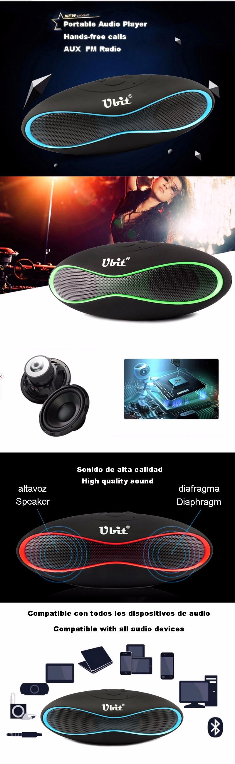 X6U bluetooth speaker spain 4