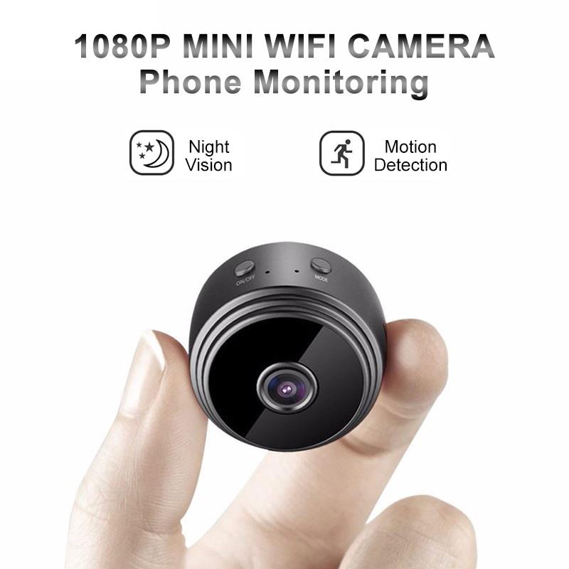 A9 Mini caméra WiFi 1080P HD lecture à distance vidéo petite micro caméra détection de mouvement Vision nocturne moniteur à domicile caméscope de sécurité