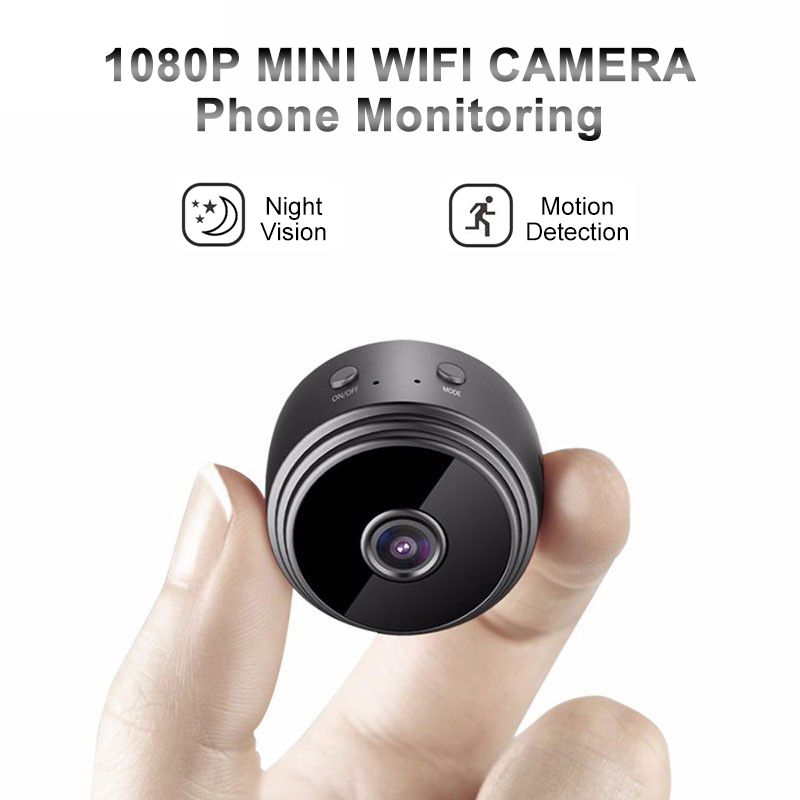 A9 Mini WiFi camera 1080P HD Remote playback video small micro cam Motion Detection Night Vision Home Monitor Security camcorder-in Surveillance Cameras from Security & Protection