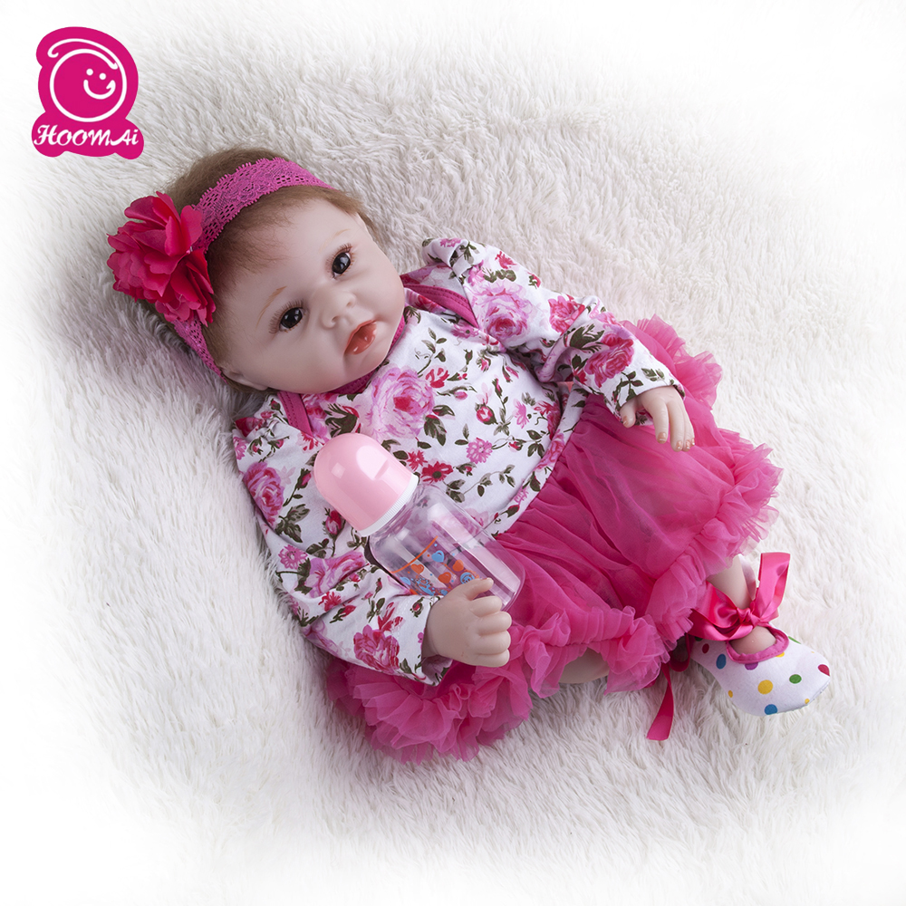 55cm Lifelike  Princess Reborn Babies  Realistic Silicone Reborn Baby Dolls Soft  Cotton Body For Kids Birthday Xmas Gift55cm Lifelike  Princess Reborn Babies  Realistic Silicone Reborn Baby Dolls Soft  Cotton Body For Kids Birthday Xmas Gift