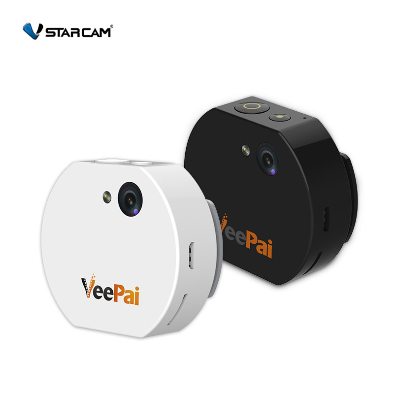 Full 1080 HD 10 meters Wifi control Action Household Wearable Camera with 32GB Storage Real Time Live Video Mini Wearable camera