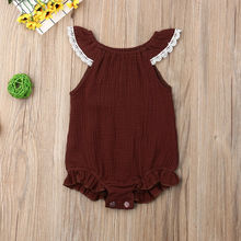 Kids Baby Girl Boy Clothes Romper 0-24M