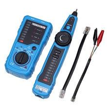 Elisona LAN Cable Tester Network RJ11 RJ45 Cat5 Cat6 Telephone Wire Detector Tracker Tracer Toner for Ethernet Line Finder