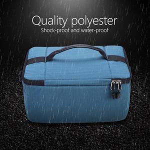 Image 2 - Waterproof DSLR Camera Shoulder Bag Portable Padded insert Camera Case dslr Bags Handle Camera Lens Bag Case Pouch