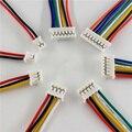 10 шт./лот JST 2,0 PH 2,0 мм 2/3/4/5/6/7/8/9/3,5-контактный разъем с проводами кабелей 10 см 26AWG