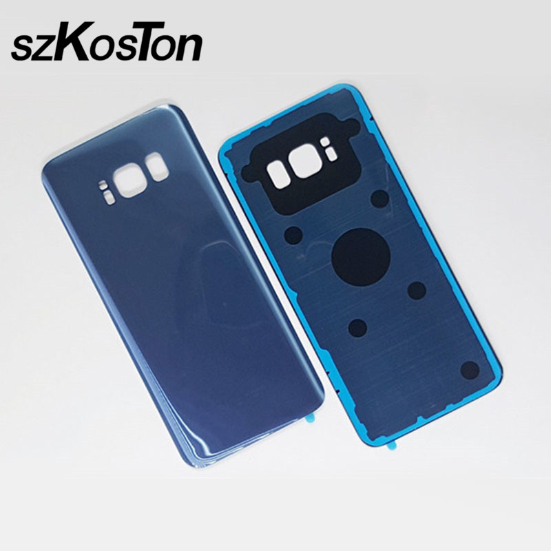 Glass Battery Back Cover Housing Case Replacement For Samsung Galaxy S8 G950 G950F Door housing Case For Samsung S8 Plus G955