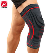 4ee5533625 CAMEWIN 1PCS Compression Knee Sleeve,Knee Brace Support for  Sports,Running,Jogging,Joint Pain Relief,Arthritis & Injury Recovery