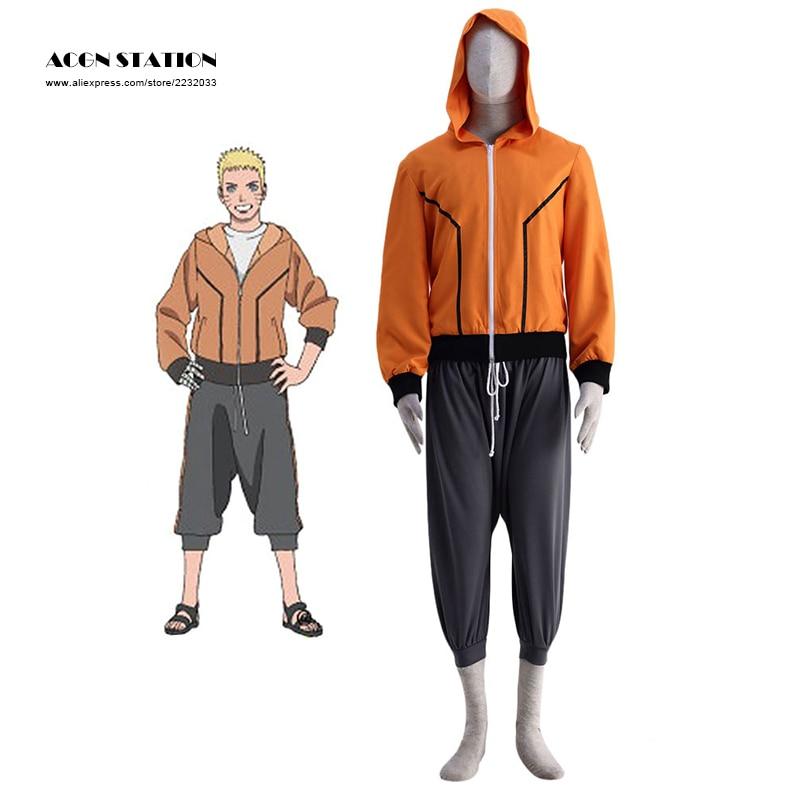 2018 Transport gratuit Anime LAST-NARUTO MOVIE- Costumul Naruto - Costume carnaval