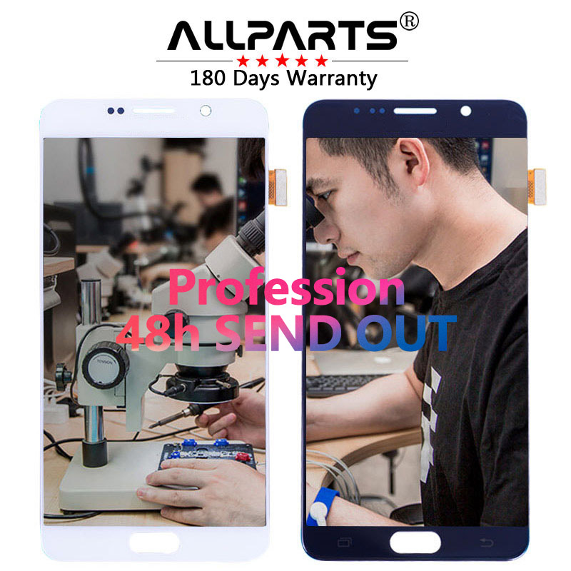 Tested 5.7'' 2560x1440 Super AMOLED LCD for SAMSUNG Galaxy Note 5 LCD Display Note5 N920A N9200 SM-N920 N920C with Touch Screen