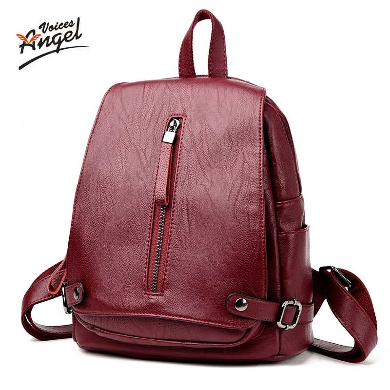Women Backpacks Women's Genuine Leather Backpacks Female School Shoulder Bags Teenage Girls College Student Sheepskin Casual Bag menghuo casual backpacks embroidery girls school bag female backpack school shoulder bags teenage girls college student bag