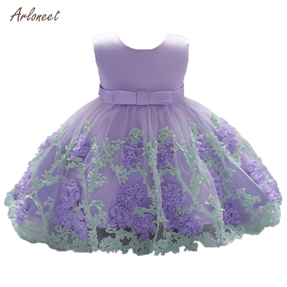 dc260c679a66 2018 New Lace Baby Girl Dress 9M 24M 1 Years Baby Girls Birthday ...
