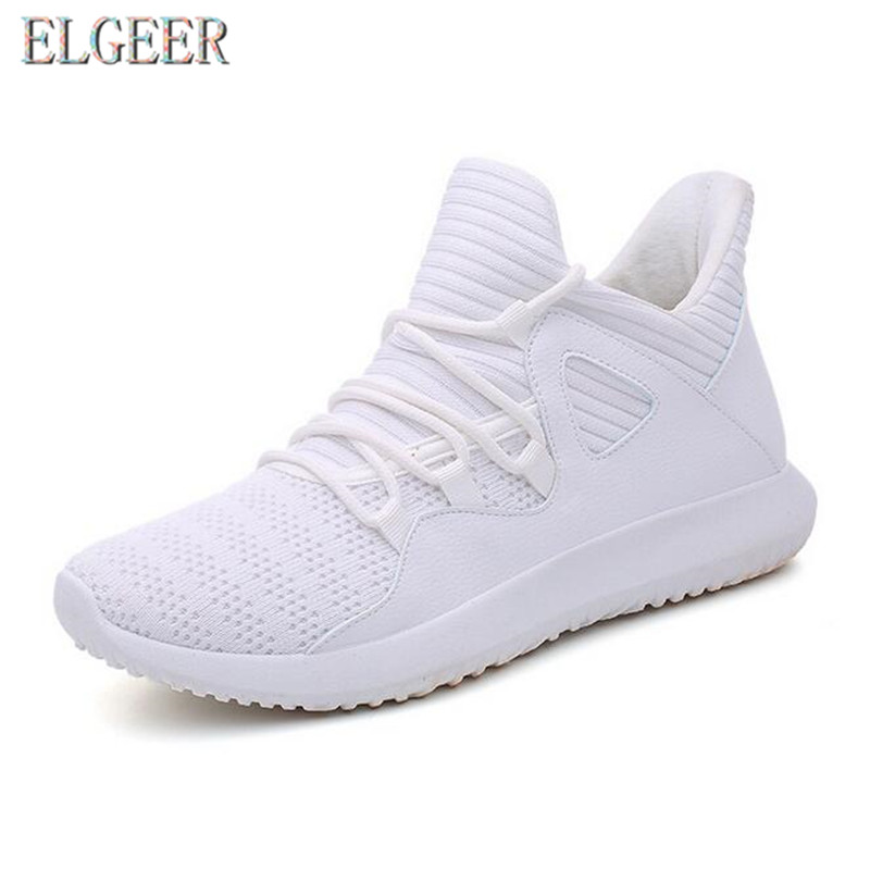 2018 spring and autumn new casual men's shoes flying mesh lace with - Men's Shoes - Photo 2