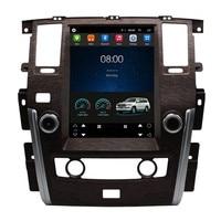 12.1 Vertical Screen Tesla Android Car Multimedia Stereo DVD GPS Navigation for Nissan Patrol 2009 2010 2011 2012 2013 2014