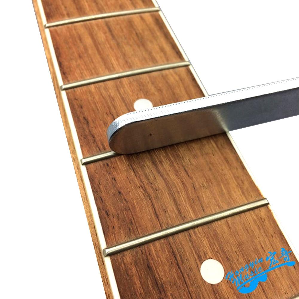 New Fashion 6 Set Acoustic Electric Guitar Bass Fingerboard Radian Ruler Fret String Bridge Adjustment Measuring Ruler For Guitarra Luthier Sports & Entertainment Stringed Instruments