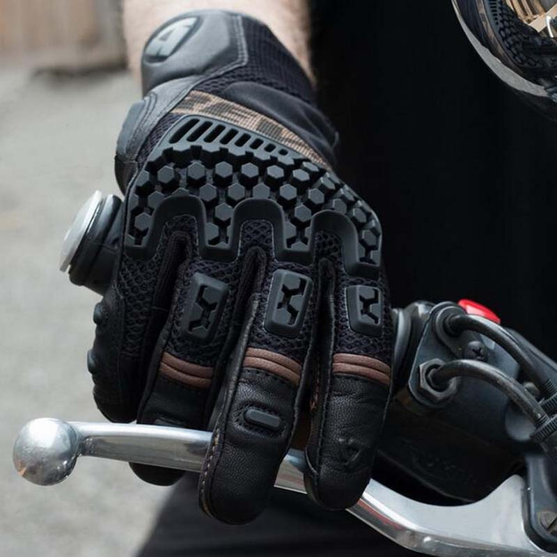 2017 Summer New STANDS 3 motocross motorcycle gloves Off road motorbike glove Ventilation can Touch screen 3 colors 3 sizes