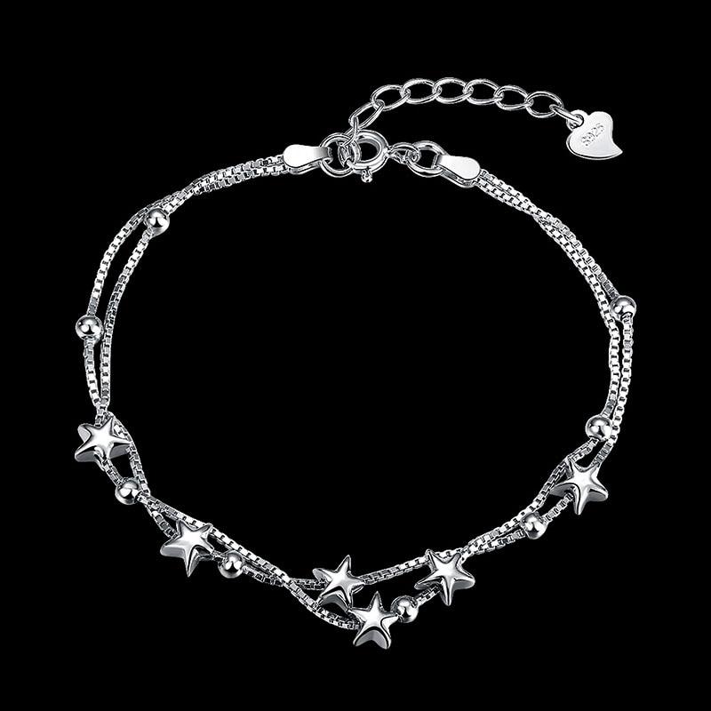 925 Sterling Silver Charm Bracelets